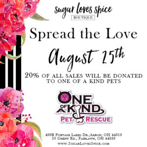 Sugar Loves Spice Spread the Love 2017 Event @ Sugar Loves Spice Boutique | Fairlawn | Ohio | United States